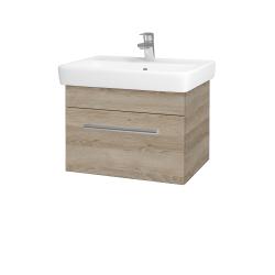Dřevojas - Koupelnová skříň Q UNO SZZ 60 - D17 Colorado / Úchytka T03 / D17 Colorado (208479C)