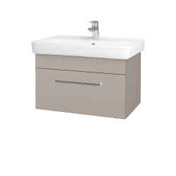 Dřevojas - Koupelnová skříň Q UNO SZZ 70 - N07 Stone / Úchytka T01 / N07 Stone (208820A)