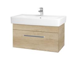 Dřevojas - Koupelnová skříň Q UNO SZZ 80 - D15 Nebraska / Úchytka T01 / D15 Nebraska (208851A)