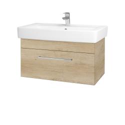Dřevojas - Koupelnová skříň Q UNO SZZ 80 - D15 Nebraska / Úchytka T04 / D15 Nebraska (208851E)