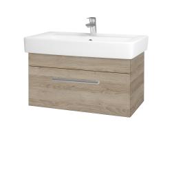 Dřevojas - Koupelnová skříň Q UNO SZZ 80 - D17 Colorado / Úchytka T03 / D17 Colorado (208875C)