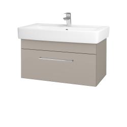Dřevojas - Koupelnová skříň Q UNO SZZ 80 - N07 Stone / Úchytka T04 / N07 Stone (209025E)