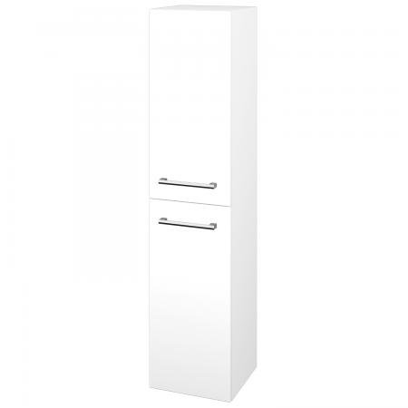 Dřevojas - Skříň vysoká DOS SVD2 35 - M01 Bílá mat / Úchytka T03 / M01 Bílá mat / Pravé (210373CP)
