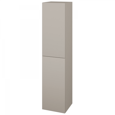 Dřevojas - Skříň vysoká DOS SVD2 35 - N07 Stone / Bez úchytky T31 / N07 Stone / Pravé (210496DP)