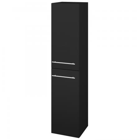 Dřevojas - Skříň vysoká s košem DOS SVD2K 35 - N08 Cosmo / Úchytka T02 / N08 Cosmo / Levé (210960B)