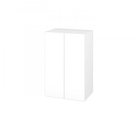 Dřevojas - Skříň horní DOS SYD2 50 - M01 Bílá mat / Bez úchytky T31 / M01 Bílá mat (210991D)