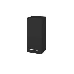 Dřevojas - Skříň horní DOS SYD 35 - N03 Graphite / Úchytka T03 / N03 Graphite / Levé (212032C)