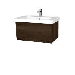 Dřevojas - Koupelnová skříň INVENCE SZZ 65 (umyvadlo Harmonia) - D21 Tobacco / D21 Tobacco (249144)