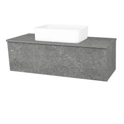 Dřevojas - Koupelnová skříň INVENCE SZZ 100 (umyvadlo Joy) - D20 Galaxy / D20 Galaxy (249571)