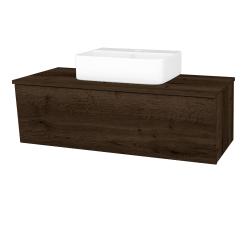 Dřevojas - Koupelnová skříň INVENCE SZZ 100 (umyvadlo Joy 3) - D21 Tobacco / D21 Tobacco (249663)
