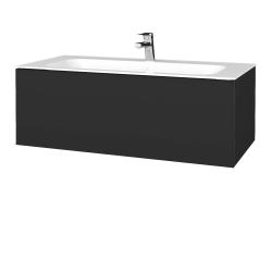 Dřevojas - Koupelnová skříň VARIANTE SZZ 100 - N03 Graphite / N03 Graphite (269159)