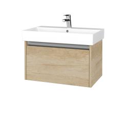 Dřevojas - Koupelnová skříň BONO SZZ 70 - D15 Nebraska / D15 Nebraska (277499)