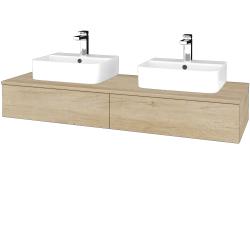 Dřevojas - Koupelnová skříňka MODULE SZZ2 140 - D15 Nebraska / D15 Nebraska (302665)