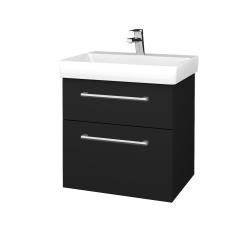 Dřevojas - Koupelnová skříň PROJECT SZZ2 60 - N08 Cosmo / Úchytka T03 / N08 Cosmo (322588C)