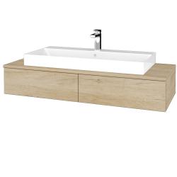 Dřevojas - Koupelnová skříňka MODULE SZZ2 120 - D15 Nebraska / D15 Nebraska (335724)