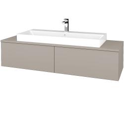 Dřevojas - Koupelnová skříňka MODULE SZZ12 140 - N07 Stone / N07 Stone (337780)