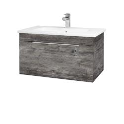 Dřevojas - Koupelnová skříň ASTON SZZ 80 - D10 Borovice Jackson / Úchytka T05 / D10 Borovice Jackson (108977F)