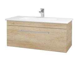 Dřevojas - Koupelnová skříň ASTON SZZ 100 - D15 Nebraska / Úchytka T03 / D15 Nebraska (173968C)