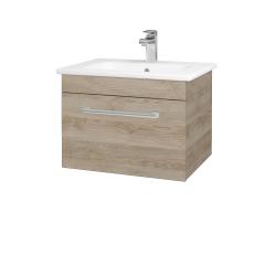 Dřevojas - Koupelnová skříň ASTON SZZ 60 - D17 Colorado / Úchytka T03 / D17 Colorado (199142C)