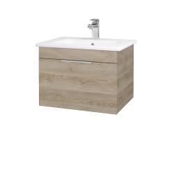Dřevojas - Koupelnová skříň ASTON SZZ 60 - D17 Colorado / Úchytka T05 / D17 Colorado (199142F)