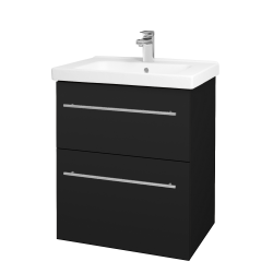 Dřevojas - Koupelnová skříň BIG INN SZZ2 65 - N08 Cosmo / Úchytka T02 / N08 Cosmo (200534B)