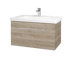 Dřevojas - Koupelnová skříň BIG INN SZZ 80 - D17 Colorado / Úchytka T04 / D17 Colorado (201227E)