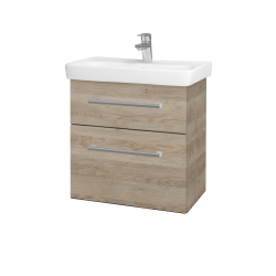 Dřevojas - Koupelnová skříň GO SZZ2 60 - D17 Colorado / Úchytka T03 / D17 Colorado (204839C)