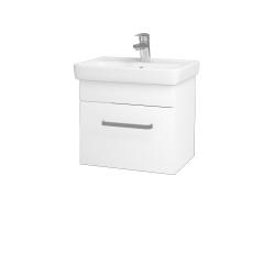Dřevojas - Koupelnová skříň SOLO SZZ 50 - M01 Bílá mat / Úchytka T01 / M01 Bílá mat (205287A)