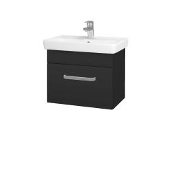 Dřevojas - Koupelnová skříň SOLO SZZ 55 - N03 Graphite / Úchytka T01 / N03 Graphite (205607A)
