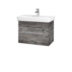 Dřevojas - Koupelnová skříň SOLO SZZ 60 - D10 Borovice Jackson / Úchytka T02 / D10 Borovice Jackson (205645B)
