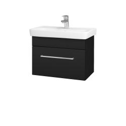 Dřevojas - Koupelnová skříň SOLO SZZ 60 - N08 Cosmo / Úchytka T04 / N08 Cosmo (205829E)
