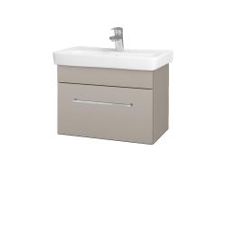 Dřevojas - Koupelnová skříň SOLO SZZ 60 - N07 Stone / Úchytka T04 / N07 Stone (205836E)