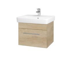 Dřevojas - Koupelnová skříň Q UNO SZZ 55 - D15 Nebraska / Úchytka T02 / D15 Nebraska (208257B)