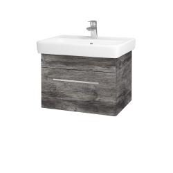 Dřevojas - Koupelnová skříň Q UNO SZZ 60 - D10 Borovice Jackson / Úchytka T04 / D10 Borovice Jackson (208448E)