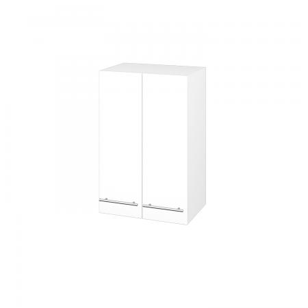 Dřevojas - Skříň horní DOS SYD2 50 - M01 Bílá mat / Úchytka T02 / M01 Bílá mat (210991B)