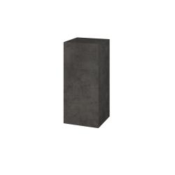 Dřevojas - Skříň horní DOS SYD 35 - D16  Beton tmavý / Bez úchytky T31 / D16 Beton tmavý / Levé (211882D)