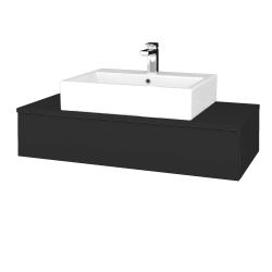 Dřevojas - Koupelnová skříňka MODULE SZZ 100 - N03 Graphite / N03 Graphite (312602)