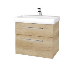 Dřevojas - Koupelnová skříň PROJECT SZZ2 70 - D15 Nebraska / Úchytka T04 / D15 Nebraska (322939E)