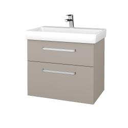 Dřevojas - Koupelnová skříň PROJECT SZZ2 70 - N07 Stone / Úchytka T01 / N07 Stone (323035A)