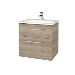 Dřevojas - Koupelnová skříň PROJECT SZZ2 60 - D17 Colorado / Úchytka T04 / D17 Colorado (328306E)