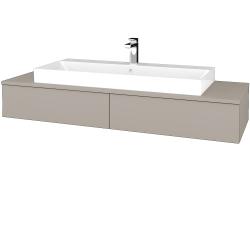 Dřevojas - Koupelnová skříňka MODULE SZZ2 140 - N07 Stone / N07 Stone (337315)