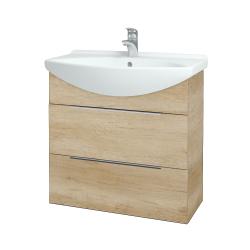 Dřevojas - Koupelnová skříň TAKE IT SZZ2 75 - D15 Nebraska / Úchytka T05 / D15 Nebraska (207618F)