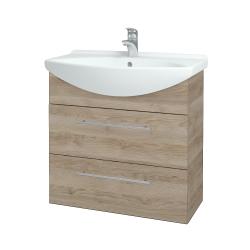 Dřevojas - Koupelnová skříň TAKE IT SZZ2 75 - D17 Colorado / Úchytka T02 / D17 Colorado (207632B)