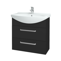 Dřevojas - Koupelnová skříň TAKE IT SZZ2 75 - N03 Graphite / Úchytka T01 / N03 Graphite (207724A)