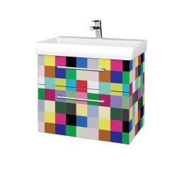 Dřevojas - Koupelnová skříň PROJECT SZZ2 70 - IND Individual / Úchytka T03 / IND Individual (322984C)