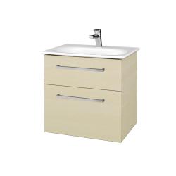 Dřevojas - Koupelnová skříň PROJECT SZZ2 60 - D02 Bříza / Úchytka T04 / D02 Bříza (328207E)