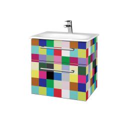 Dřevojas - Koupelnová skříň PROJECT SZZ2 60 - IND Individual / Úchytka T03 / IND Individual (328337C)