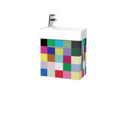 Dřevojas - Koupelnová skříň DOOR SZD 44 - IND Individual / Úchytka T02 / IND Individual / Levé (149895B)