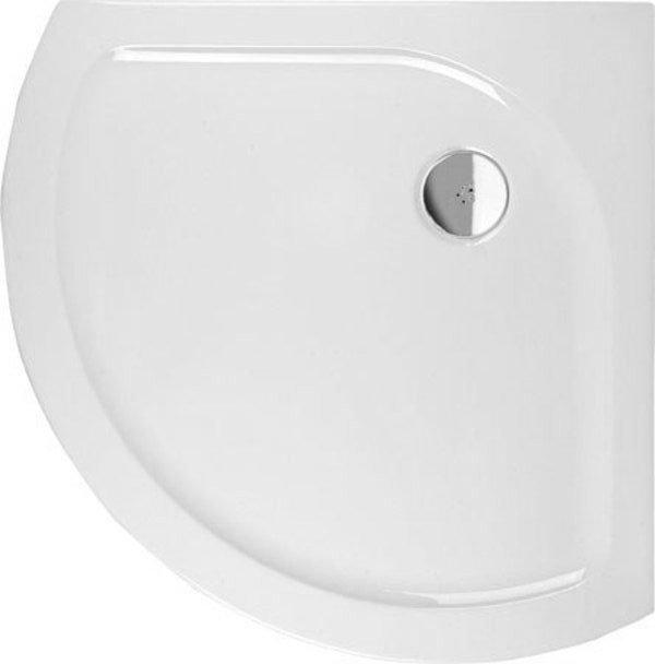 XELOS sprchová vanička akrylátová, čtvrtkruh 90x90cm, R590, bílá (60111)
