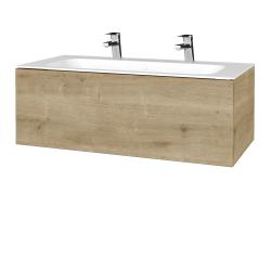 Dřevojas - Koupelnová skříňka VARIANTE SZZ 100 - D09 Arlington / D09 Arlington (269050U)